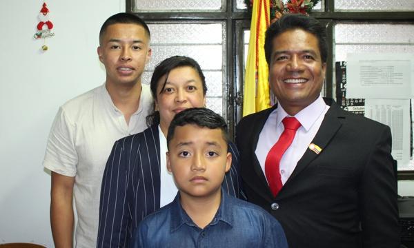 Se posesionó el alcalde de Cajibío 2020-2023
