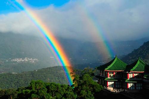 Tecnología Taiwán desarrolla sistema de predicción de arco iris