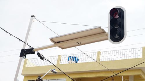 Conductores no respetan los semáforos en Quilichao