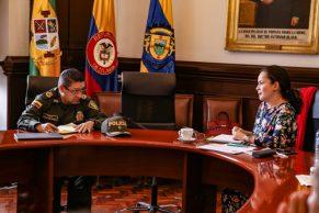 Alcaldía de Popayán y Policía dialogan para recuperar el espacio público