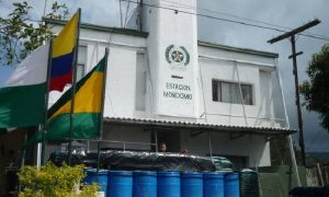 Atentado contra estación de Policía de Mondomo