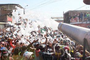 El civismo reinó en el Carnaval del Agua y el Sentir Guacheneceño