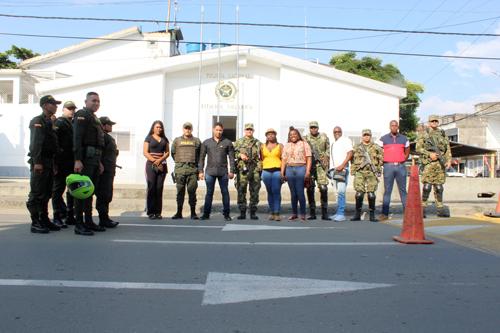 En Villa Rica se trabaja para garantizar la seguridad