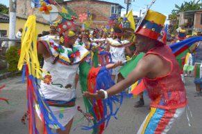 Entre cultura y respeto, Cajibío festejó sus carnavales