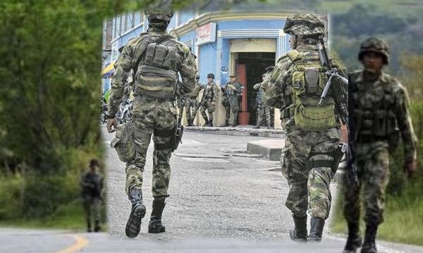 Hostigan al Ejército en el norte del Cauca