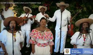 Los violines caucanos en la ONU