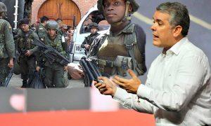 Mientras llega el presidente Duque se presentan hostigamientos en el Cauca