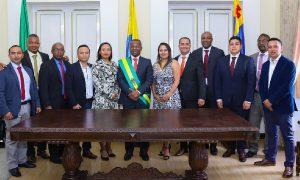 Nuevo grupo de secretarios de la Gobernación