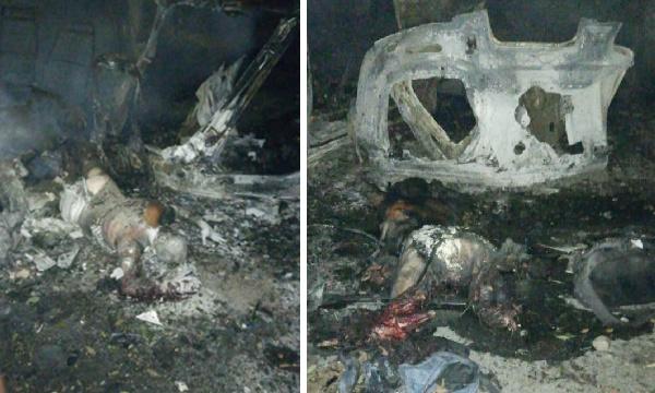 Cinco muertos en atentado terrorista en el sur del Cauca
