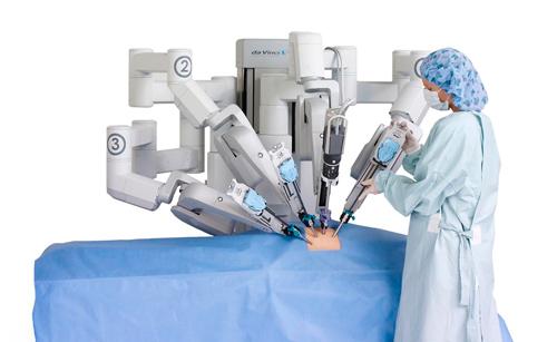 Cirugías asistidas por robots