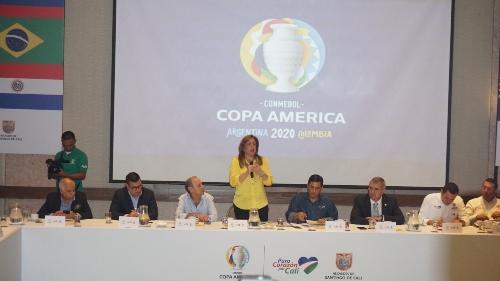 Comité organizador de la Conmebol presentó su plan de acción