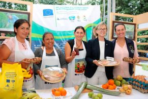 Representante de Unión Europea presente en proyectos de cooperación internacional