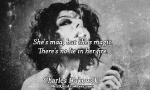 Fedesarrollo y una frase de Bukowski