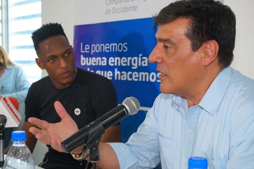 Yerry Mina, Omar Serrano Rueda.