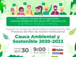 A través de audiencia pública CRC presentará su Plan de Acción 2020-2023