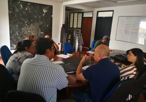 Alcaldesa Lucy Amparo formalizó creación del Comité Local de Justicia
