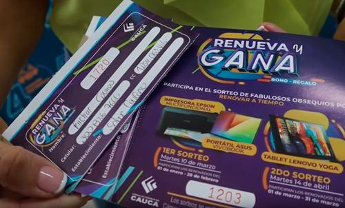 Cámara de Comercio del Cauca premia a sus asociados