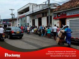 Como si nada circula la gente en Cali y Santander de Quilichao