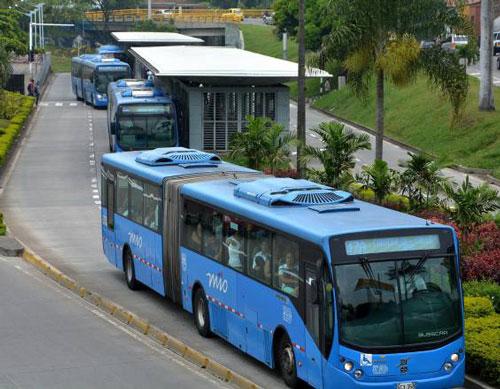 Disminuyó el número de pasajeros que se movilizan en buses y MIO