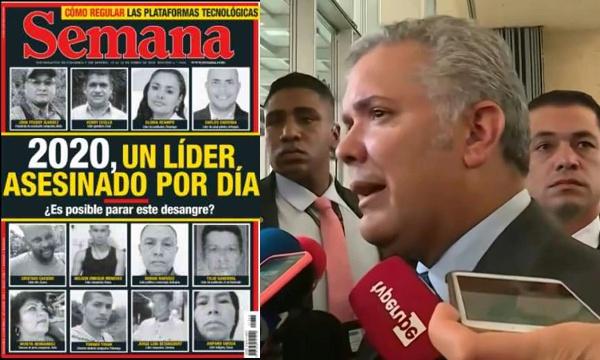 ¿ES MÁS PELIGROSO EL CORONAVIRUS O SER LÍDER SOCIAL EN COLOMBIA?