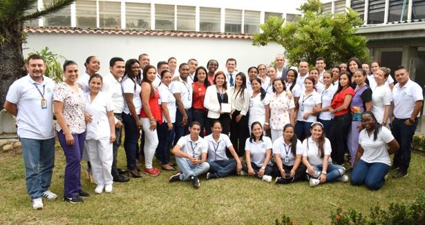 Equipo Administrativo y Asistencial de la ESE Norte 2 realizando el proceso de Gestión de la Calidad ICONTEC.