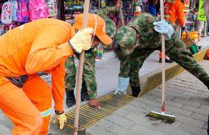 Inició jornada de limpieza en Popayán