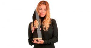 Johana Bahamón, ganadora del Premio Cafam a la Mujer 2020