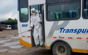 Limpieza y fumigación para prevenir Coronavirus