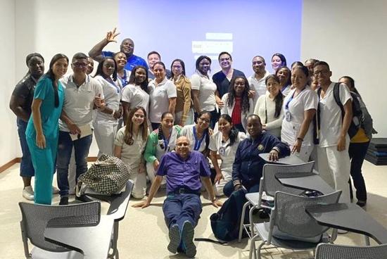 Personal de la ESE Norte 2 en capacitación sobre Tele-educación y Tele-medicina con la Fundación Valle del Lili.