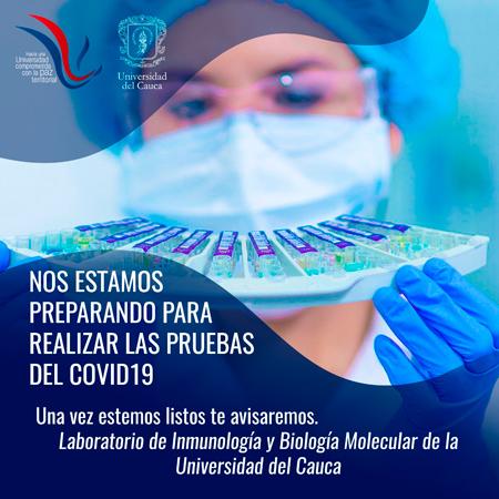 Unicauca realizará pruebas de Coronavirus