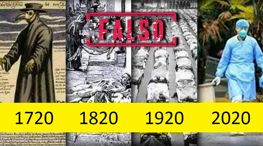 Los brotes de nuevas pandemias no ocurren cada 100 años