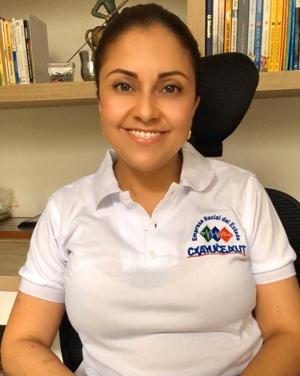 Beatriz Bohórquez, nueva gerente de la ESE CXAYU´CE JXUT - Toribío y Jambaló - Cauca