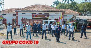 Bomberos de Quilichao que transportaron mujer con Covid-19 ya tienen resultados