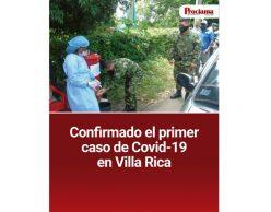 Confirmado el primer caso de Covid-19 en Villa Rica