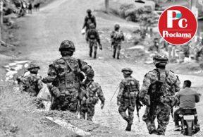 Hostigamientos a la Fuerza Pública en Corinto
