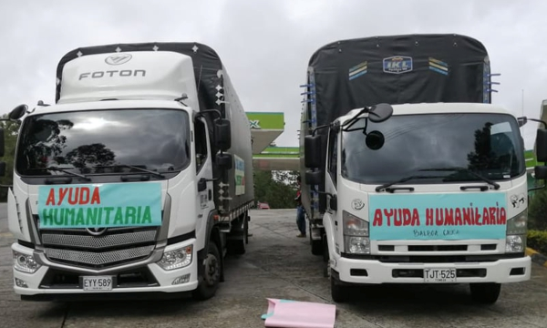 Solidaridad con Colonia de Balboa residente en Popayán