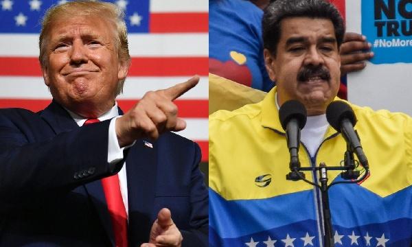 Virus Maduro VS. Coronavirus Míster Trompeta