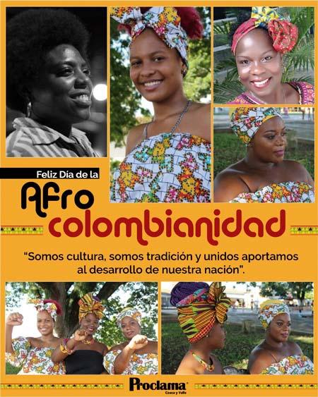 Conmemoran Día Nacional de la Afrocolombianidad con actividades virtuales