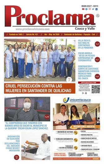 Edición No. 421 de Proclama Cauca y Valle
