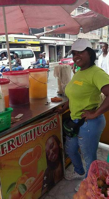 En picada negocios de vendedores informales en Puerto Tejada