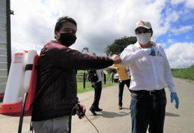 Entregan kits de bioseguridad en zonas rurales