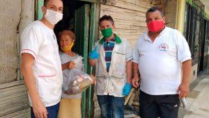 Familia en Popayán gestiona alimentos para los más vulnerables