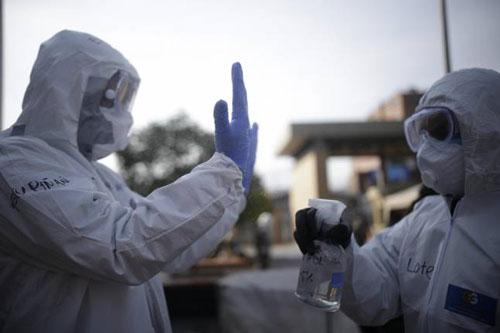 Este lunes: 18 muertos por coronavirus