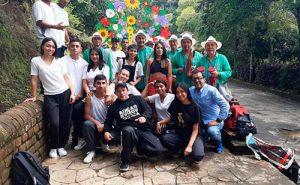 Jóvenes transforman la sociedad con arte.TCU.Popayán