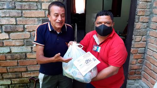 La solidaridad de Popayán llevó mercados a artistas y sus familias