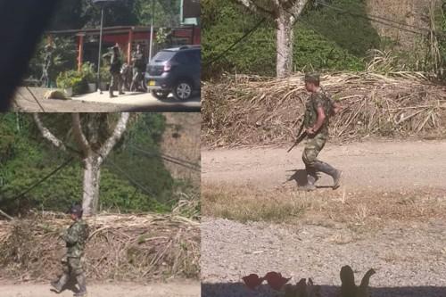 """Paramilitares se hacen llamar """"disidencias"""" en Cauca"""