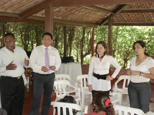 Lucy Amparo Guzmán González, alcaldesa municipal y presidente Junta Directiva de Quilisalud - La foto corresponde a la época en que se desempeñaba como gerente de Quilisalud