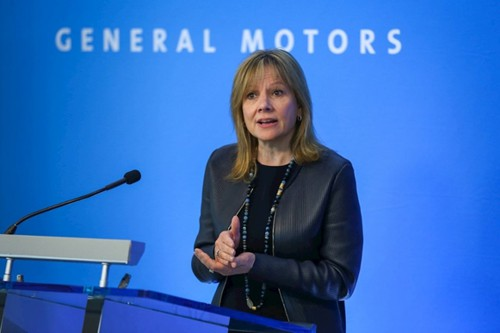 Mary Barra, presidente ejecutiva de General Motors