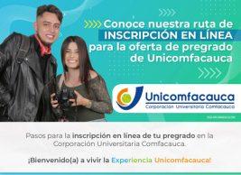 Pertenece a Unicomfacauca con inscripción gratuita y sin ICFES