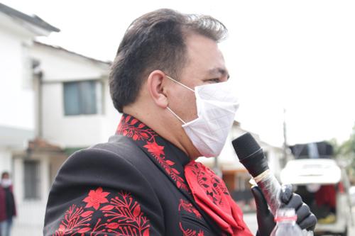 Popayán solidaria con los músicos del Cauca